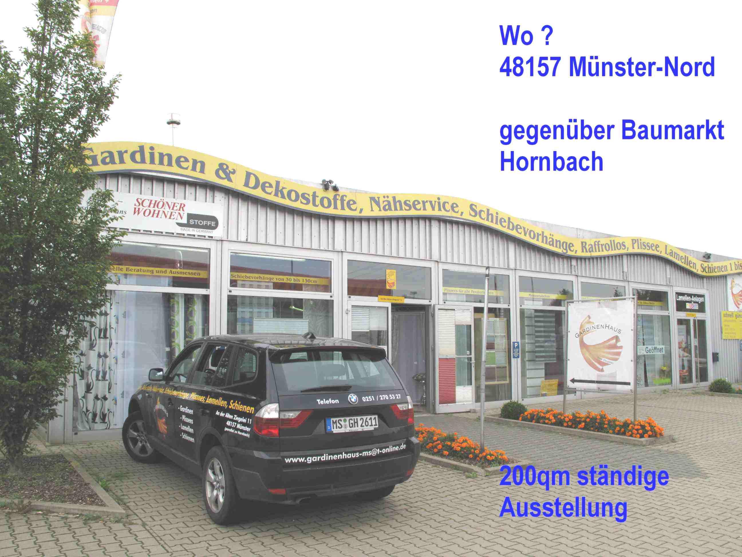 Gardinen Haus 48157 Münster Gelmer öffnungszeiten
