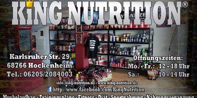 King Nutrition in Hockenheim
