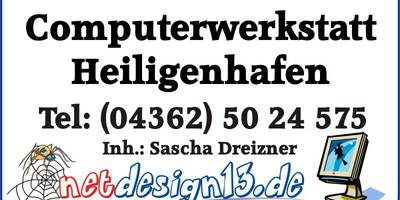 Computerwerkstatt Heiligenhafen netdesign13.de in Heiligenhafen