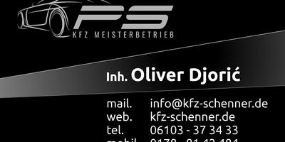 KFZ Meisterwerkstatt Peter Schenner Inh. Oliver Djoric in Dreieich