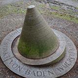 Landesmittelpunkt von Baden-Württemberg in Tübingen