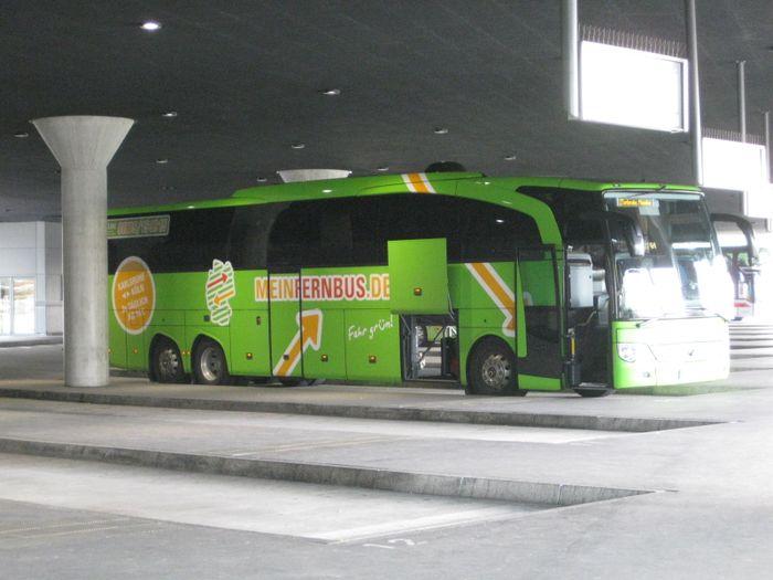 Zob München Zentraler Omnibusbahnhof Bus Bahnhof Mit