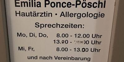 Ponce-Pöschl Emilia Dr.med. Hautärztin in Garching bei München
