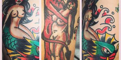 Hot-Stuff-Tattoo in Bad Kissingen