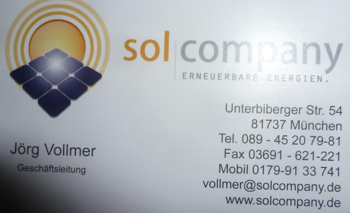 Solaranlagen München solcompany solaranlagen fotovoltaic 1 bewertung münchen perlach