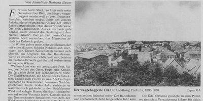 Fortunafeld - Erlebnisraum in Bergheim an der Erft