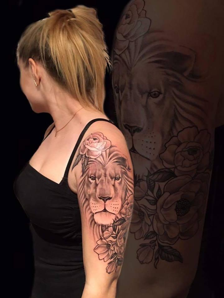 Tattoo studio hautnah