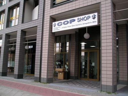 Cop shop berlin gutschein