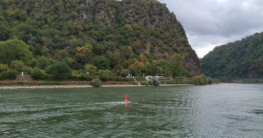Rheinschiffahrt Hoelzenbein in Koblenz am Rhein