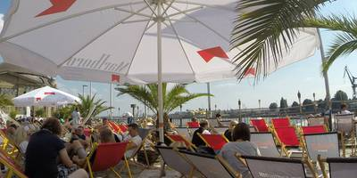 Dock 3 Beachclub in Hamburg