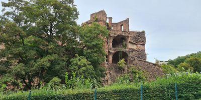 Schloss Heidelberg in Heidelberg