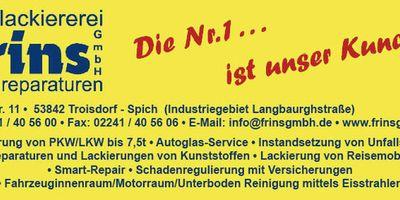 Autolackiererei Heinz Frins GmbH in Spich Stadt Troisdorf