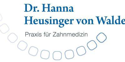 Dr. Hanna Heusinger von Waldegg, Zahnärztin in Bühl in Baden
