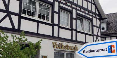 Volksbank Bigge-Lenne, SB-Filiale Grafschaft in Schmallenberg