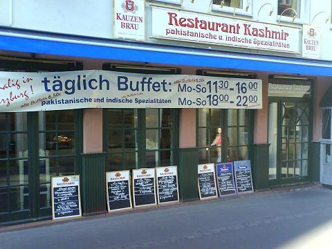 restaurant kashmir 6 bewertungen w rzburg altstadt katharinengasse golocal. Black Bedroom Furniture Sets. Home Design Ideas