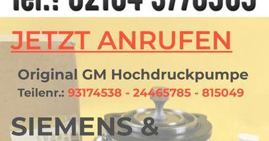 Fa. Schlee Opel GM Hochdruckpumpen Z22YH - Reparatur in Hochneukirch Gemeinde Jüchen