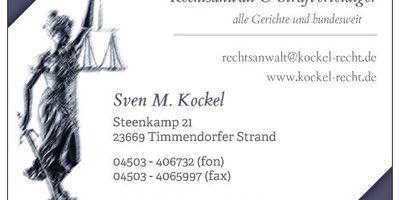 Rechtsanwalt Sven M. Kockel in Timmendorfer Strand