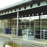 """Sporthalle """"Hartmannhalle"""" in Chemnitz in Sachsen"""