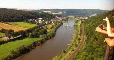 Weser Skywalk in Beverungen