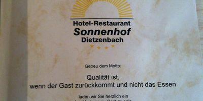 Sonnenhof Hotel & Restaurant in Dietzenbach