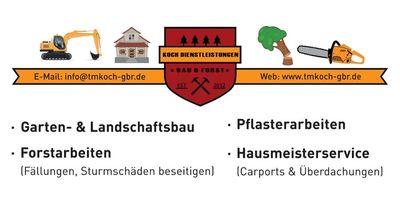 Koch Dienstleistungen Bau&Forst GmbH&Co.KG in Michelbach an der Bilz