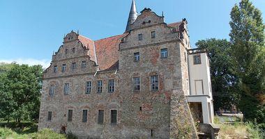 Wasserschloss Oberau in Niederau bei Meißen in Sachsen