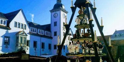 Freiberger Christmarkt in Freiberg in Sachsen