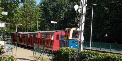 PARKEISENBAHN Bahnhof Sandower Dreieck in Cottbus