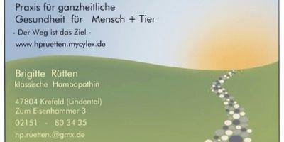 Brigitte Rütten - Praxis für ganzheitliche Gesundheit für Mensch + Tier in Krefeld