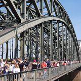 Hohenzollernbrücke Köln in Köln