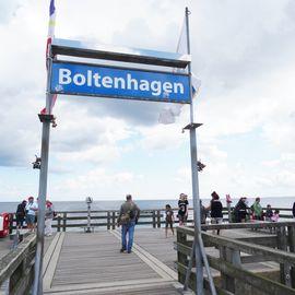 Seebrücke Boltenhagen in Ostseebad Boltenhagen