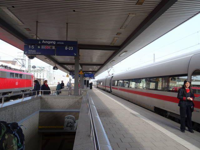 Bahnhof Nürnberg Gleise