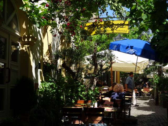Hinterhofle Restaurant Biergarten 3 Bewertungen Volkach