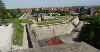 Citadelle Petersberg in Erfurt