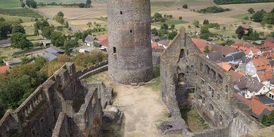 Burg Münzenberg in Münzenberg