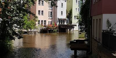 Rathausbrücke in Erfurt