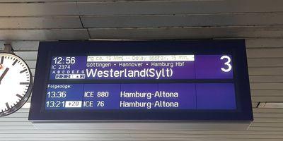 ICE-Bahnhof Wilhelmshöhe in Kassel