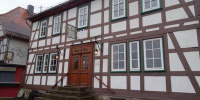 Gaststätte Burgpost Schloss Eisenbach in Lauterbach in Hessen
