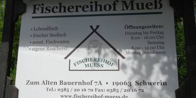 Fischereihof Mueß Inh. Gerd Eberwein in Schwerin in Mecklenburg