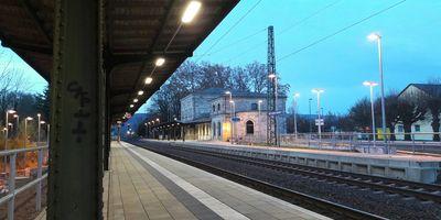 Bahnhof Bad Sooden-Allendorf in Bad Sooden-Allendorf