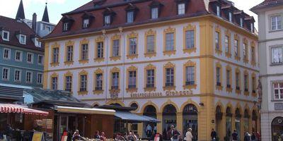 Historisches Kaufhaus - Haus Markt 14 in Würzburg