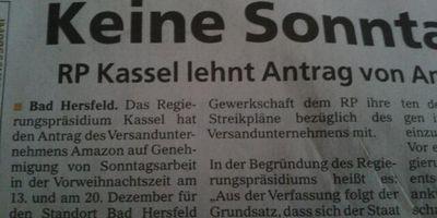 Amazon Fulfillment Germany GmbH in Rheinberg