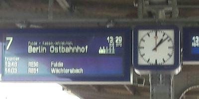 Bahnhof Hanau Hbf in Hanau
