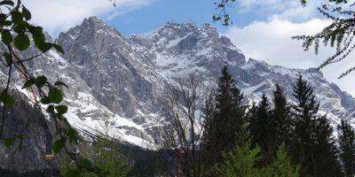 Skigebiet Zugspitze in Garmisch-Partenkirchen