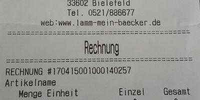 Bäckerei Lamm GmbH in Bielefeld