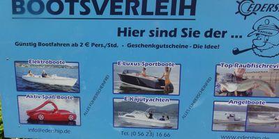 Edership-Motoryachten Inh. Norbert Peil in Hemfurth Edersee Gemeinde Edertal