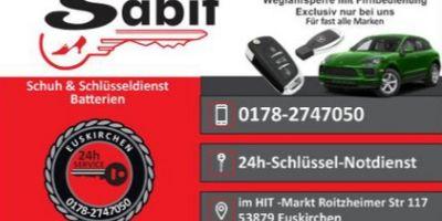 Sabit-Schuh und Schlüsseldienst in Euskirchen