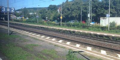 Bahnhof Bensheim-Auerbach in Bensheim