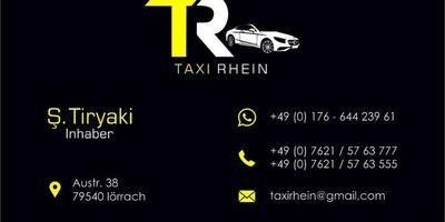 Taxi Rhein in Lörrach