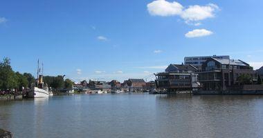 Freizeithafen Leer in Leer in Ostfriesland